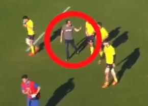 """VIDEO """"Insulta și amenința cu excluderea din arbitraj"""". Arbitrul român acuzat că a ajutat România să se califice la Mondial, filmat în timp ce pune presiune pe alți arbitri la meciurile """"Stejarilor"""""""