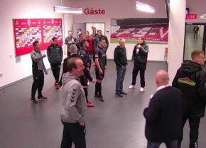 """VIDEO + FOTO Incredibila Bundesliga! Jucătorii au mers la cabine, apoi s-a întâmplat ceva ireal: """"Niciodată în 55 de ani nu a mai fost așa"""" » Alex Maxim a fost martor"""