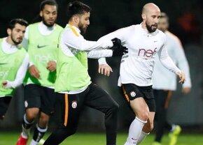 VIDEO Seară de coșmar pentru Latovlevici! A greșit la două goluri și Galatasaray a fost eliminată