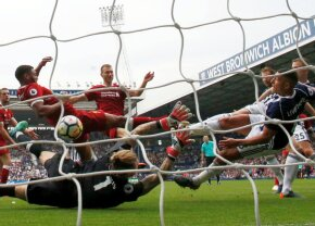 VIDEO Liverpool se încurcă pe terenul ultimei clasate, în ciuda recordului stabilit de Salah, și îi lasă cale liberă lui United spre locul 2