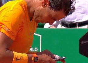 """FOTO + VIDEO Moment nemaivăzut în ATP » Nadal a pus mâna pe telefon imediat după victoria cu Dimitrov și a trimis un mesaj-fulger: """"Hai să facem asta cât mai repede!"""""""