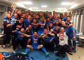 VIDEO + FOTO Nebunie în Serie A! Napoli câștigă dramatic cu Juventus și se apropie la un punct de lider. Cum a sărbătorit Chiricheș victoria în vestiar