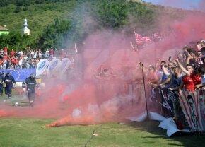 Gest unic în istoria derby-urilor din România » Decizia luată de ultrașii celor de la UTA înaintea meciului cu Poli