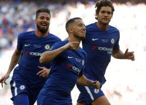 VIDEO+FOTO » Hazard îl lasă pe Mourinho fără niciun trofeu! Chelsea învinge Manchester United, 1-0, și câștigă Cupa Angliei
