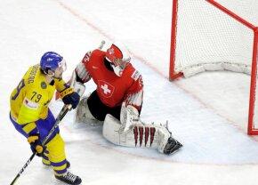 Meci palpitant în ultimul act al Campionatului Mondial de Hochei » Cum s-a încheiat finala Suedia - Elveția