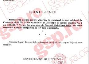 EXCLUSIV FOTO FACSIMIL // Semnătura de pe noul contract al lui Omrani cu CFR Cluj este FALSĂ! Avem rezultatul expertizei grafologice