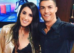 FOTO Un selfie care a aprins Spania » Cine e tânăra superbă care s-a pozat cu Ronaldo și a ajuns în revistele mondene