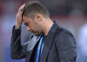 Mutu s-a luat iar de Niculescu, în timp ce Clau-gol îi urmărea conferința la TV » Replica a venit rapid