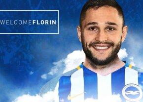 """OFICIAL Florin Andone a fost prezentat azi în Premier League! » """"Va da o altă dimensiune atacului nostru"""""""