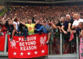 VIDEO + FOTO Poveste spectaculoasă: cum a ajuns un hit disco al anilor '80 imnul de Liga Campionilor al fanilor lui Liverpool » Steliștii și craiovenii l-au preluat și ei
