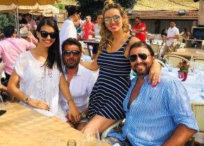 VIDEO Cele mai tari imagini pe care le-ai văzut vara asta :) Adrian Mutu, vacanță de vis cu un fost coleg din Serie A