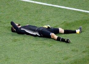FOTO A ieșit plângând după doar 15 minute în meciul carierei cu Anglia