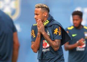 FOTO Emoții mari pentru brazilieni! Ce s-a întâmplat cu Neymar la antrenamentul de azi