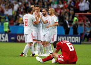 Motivul pentru care Spania e înaintea Portugaliei în clasament » Egalitate perfectă la puncte și goluri!