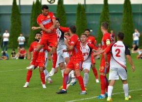 VIDEO+FOTO FCSB a câștigat, dar nu și-a păstrat poarta intactă în fața modestei CS Cornu » Premierele amicalului: Moruțan + 4-3-3