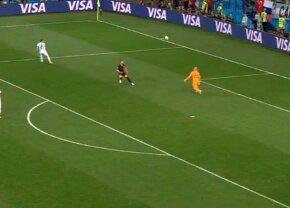 VIDEO+FOTO Gafa Mondialului! Cadoul făcut croaților de portarul Argentinei în minutul 53