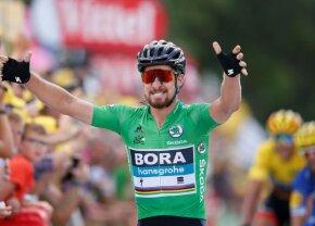 TURUL FRANȚEI. Peter Sagan, fără emoții! Slovacul câștigă a doua sa etapă din Turul Franței