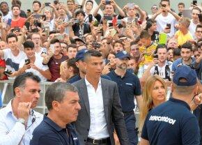 VIDEO+FOTO UPDATE Euforie la Torino: Cristiano Ronaldo, întâmpinat de sute de fani la vizita medicală la Juventus!