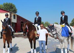 Rezultate excepționale pentru reprezentanții României la Balcaniada de dresaj din Bulgaria