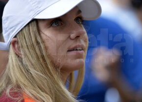GALERIE FOTO Simona Halep, apariție de senzație la BRD Bucharest Open » Lângă cine a văzut meciurile