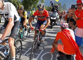 NIBALI. Pierdere majoră în Turul Franței: Vincenzo Nibali, OUT după o căzătură dură pe Alpe D'Huez!