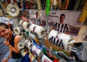 Efectul amuzant al transferului lui CR7 » Sold-out la abonamente și hârtie igienică la Napoli!