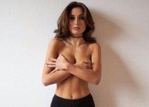 FOTO Ea e cea mai sexy fană din Anglia! Televiziunile se bat pentru ea după ce a cucerit internetul la postul suporterilor lui Chelsea