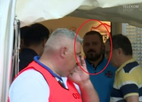 ASTRA - FCSB 1-0 // FOTO Geambazi a fost la meciul de la Giurgiu » Cum a fost surprins patronul FCSB-ului în lojă