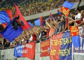 ASTRA - FCSB 1-0. Peluza Roș-Albastră, avertisment pentru jucătorii de la FCSB: