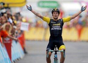 TURUL FRANȚEI. Slovenul zburător! Primoz Roglic câștigă ultima etapă de munte din Turul Franței și îl dă jos pe Froome de pe podium