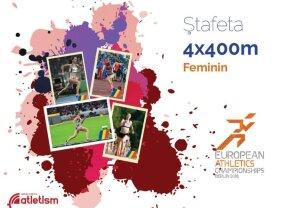 Rezultate slabe pentru români! Doar ștafeta de 4X400 metri feminin a intrat în finală