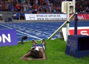 GALERIE FOTO Dezastru, dezastru, dezastru! Drama teribilă a unei atlete: s-a oprit crezând că a câștigat o medalie, dar a încheiat cursa în lacrimi