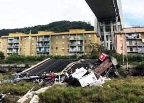 Incredibil! Fostul fotbalist a căzut cu podul groazei din Genova, dar a scăpat nevătămat! A zburat 45 de metri: