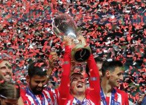 SUPERCUPA EUROPEI // VIDEO + FOTO Atletico Madrid câștigă Supercupa recordurilor și răzbună finalele pierdute contra Realului în Liga Campionilor
