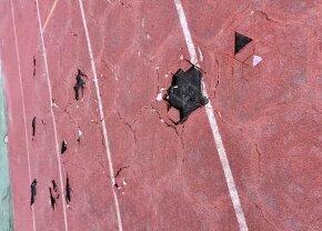 FOTO Au distrus pista! Cluj Arena arată ca după bombardament în urma festivalului muzical Untold » UPDATE // Reacția reprezentanților Untold