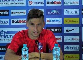 """Declarații emoționante ale noului transfer de la FCSB: """"Tata e rapidist, plângea la telefon când i-am spus că mă ia Steaua!"""""""