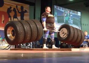 VIDEO Te-ai pune cu ei? Cei mai puternici oameni din lume: ridică peste 500 kg!