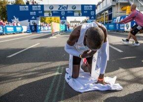 ELIUD KIPCHOGE // A stabilit un nou record mondial în maratonul de la Berlin: