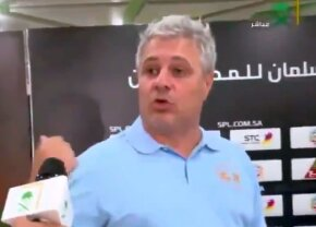 VIDEO Șumudică, criză de nervi după ultimul meci! S-a certat cu un reporter: