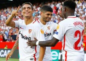 VIDEO Spectacol total în Spania: s-au marcat 8 goluri în Levante - Sevilla » Gafă incredibilă a portarului