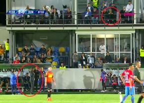 FCSB - Dunărea Călărași 2-0 // Ce i-a strigat Becali lui Alexa în minutul 88 al meciului de la Voluntari