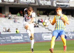 Goga-one-man show! La 34 de ani, jucătorul a făcut spectacol în derby-ul de promovare U Cluj - Petrolul