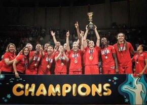 SUA din nou! Americancele au câștigat a 10-a medalie de aur la Cupa Mondială de baschet feminin
