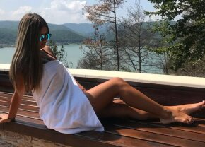"""GALERIE FOTO În top pe toate planurile! Iubita lui Drăguș face senzație pe Instagram cu pozele pe care le postează: """"My perfect love"""""""