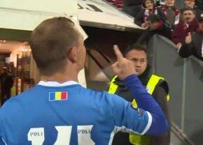 """Scandal după CFR Cluj - Poli Iași! Un jucător a răbufnit către fani: """"V-am făcut campioni, în p**a mea! Aplaudați în p**a mea"""""""