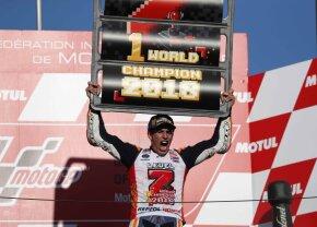 VIDEO MotoGP în era Marquez » Marc e campion mondial cu 3 etape înainte de finalul sezonului!