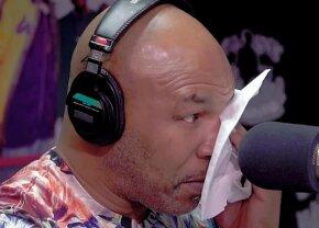VIDEO Mike Tyson a plâns în direct! Momentul care l-a făcut pe fiorosul pugilist să lăcrimeze