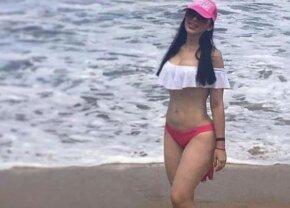 FOTO Soția celui mai periculos mafiot al momentului a pozat HOT la plajă!