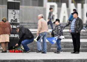 Imagini răvășitoare din Craiova » EXCLUSIV VIDEO emoționant in memoriam Ilie Balaci