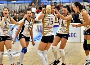CSM București și Alba Blaj și-au aflat adversarele din Liga Campionilor la volei